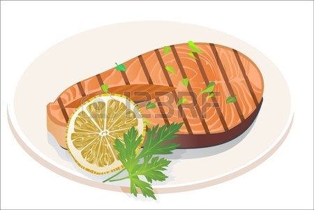 16563596-appetizing-salmon-steak-with-lemon-slice